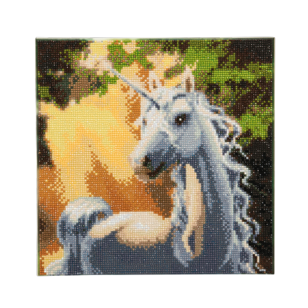 Crystal Art D.I.Y picture kit SUNSHINE UNICORN